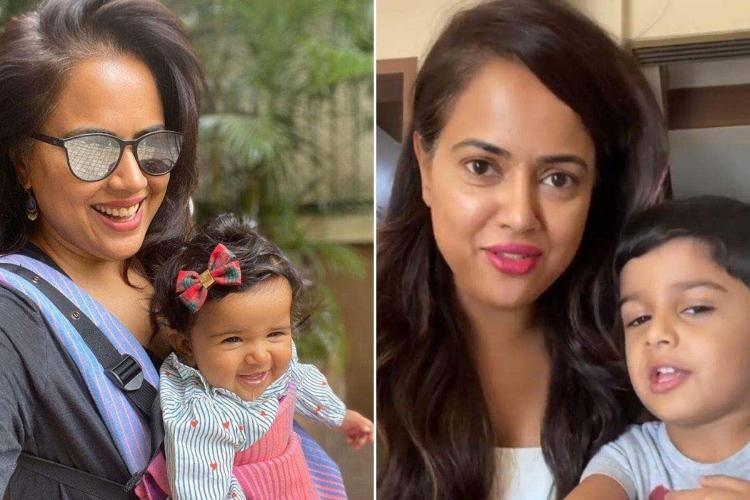 Sameera Reddy posts hilarious makeover video by her kids