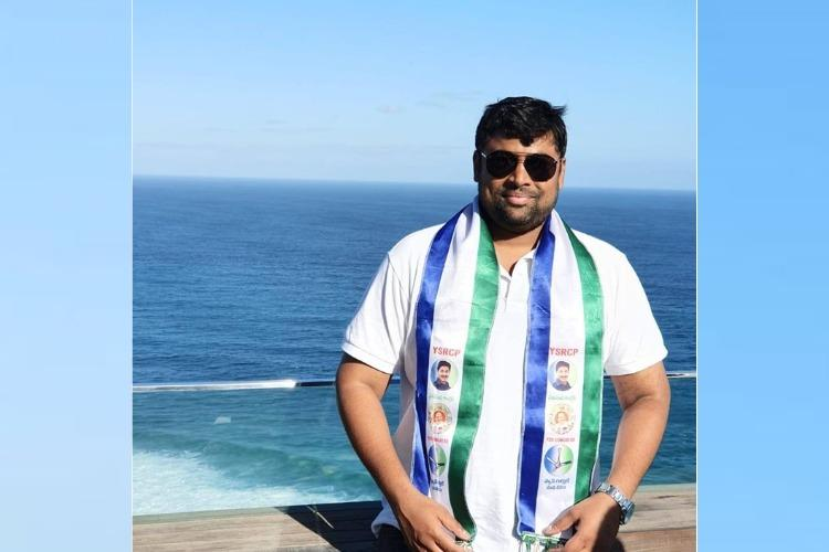 YSRCP MLAs son booked for assaulting traffic police in Hyderabad