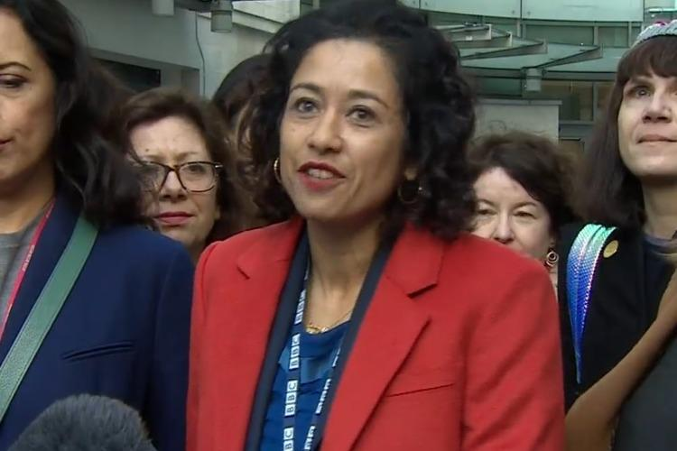 UK journalist Samira Ahmed wins equal pay case against employer BBC