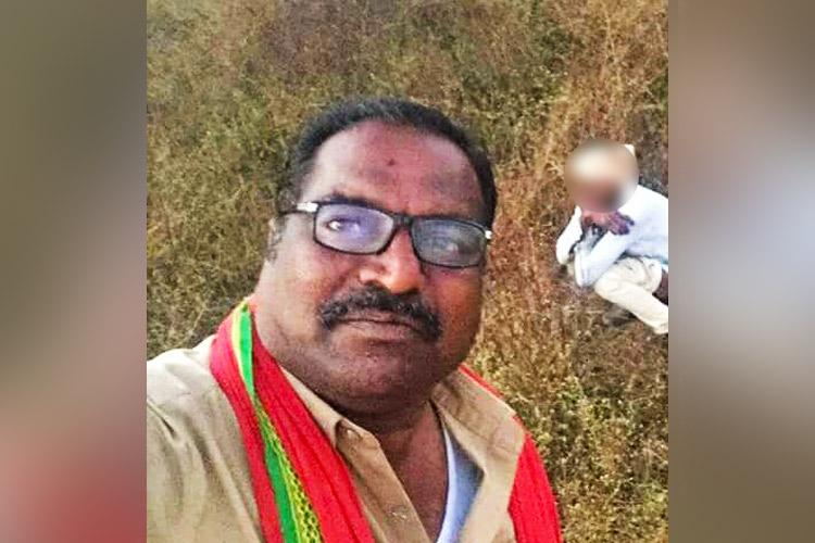 Hyd corporators insensitive selfie posts a pic of lorry driver defecating in open