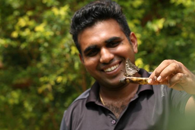 Meet the Karnataka man who planted a garden for butterflies