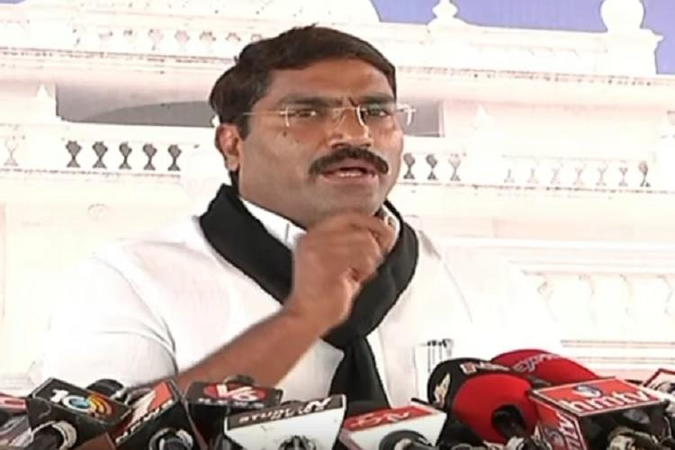 Not given a chance to speak Rift in Telangana Congress as party whip resigns
