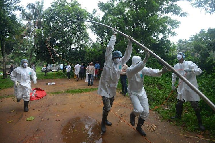 Probe on if Nipah patient got infected by eating guava experts collect bat samples