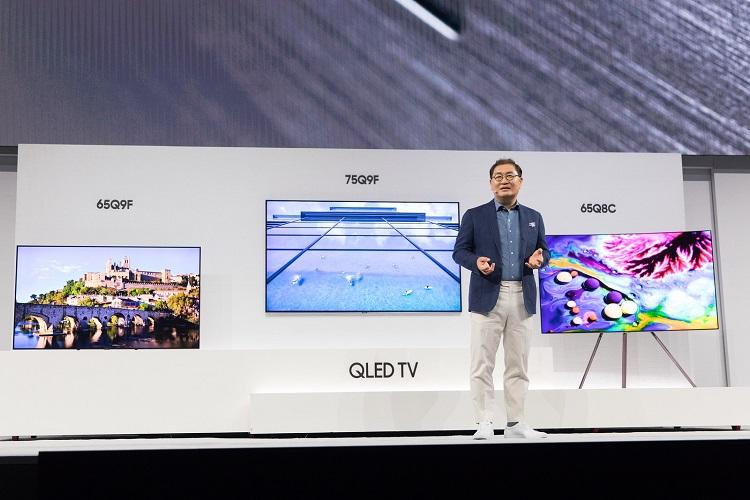 Samsung unveils 85-inch 'invisible' QLED TVs with Bixby