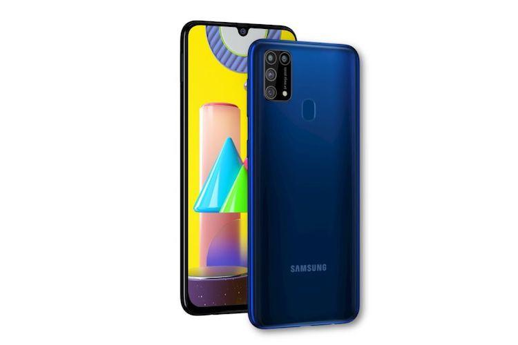 Samsung launches Galaxy M31 in India with 64MP quad camera 6000mAh battery