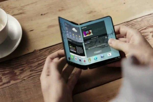 Foldable smartphones to soon be a reality Samsung developing first prototype