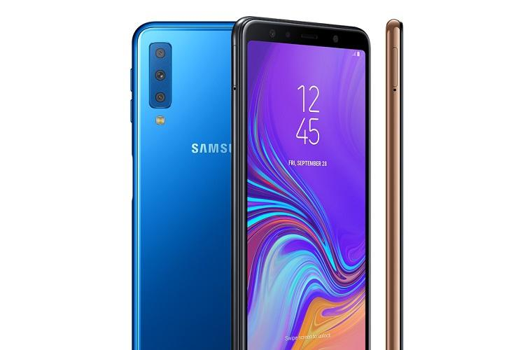 Samsung Launches Galaxy A7 With Triple Rear Cameras In India