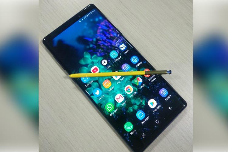Samsung Note 9 teardown cuts into the