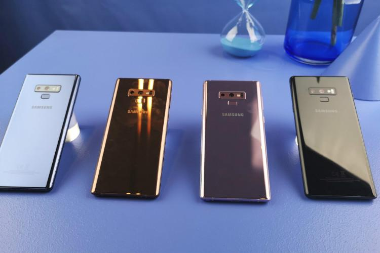 Samsung Galaxy Note 9 creates flutters in Apples camp