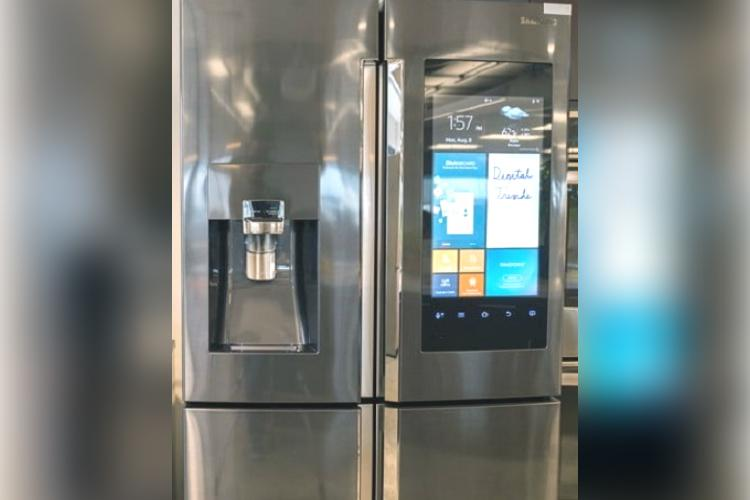 Samsung refrigerator with Bixby voice control touchscreen now in India