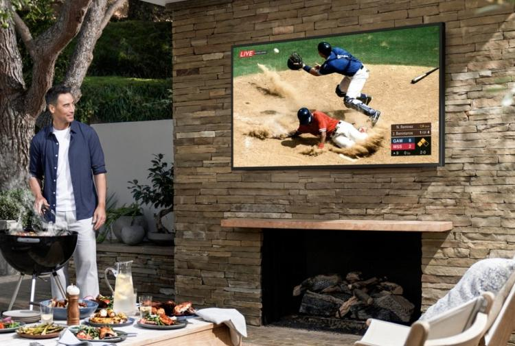 Samsung launches The Terrace 4K QLED TV