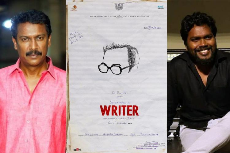 Samuthirakani Pa Ranjith and Writer poster collage
