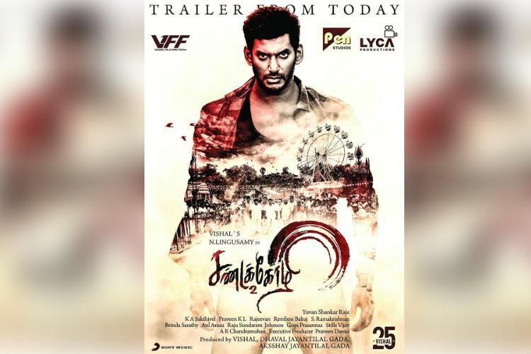Vishals Sandakozhi 2 trailer out