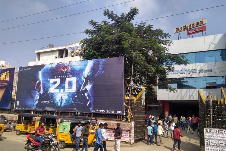 Rajinikanths 20 opens to phenomenal reception in Telugu states