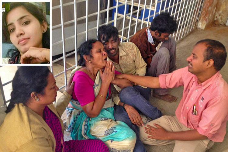 She said no he burnt her Sandhyas family mourns brave daughter killed by stalker