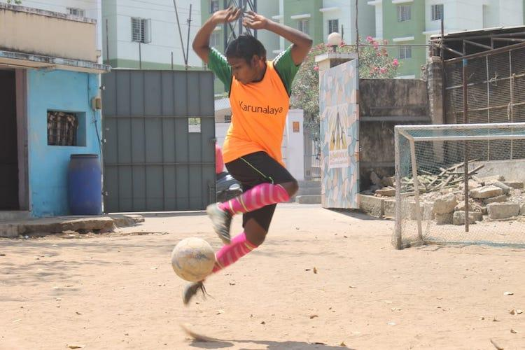 Once child labourer this TN teen led Indias Street Football team in Russia