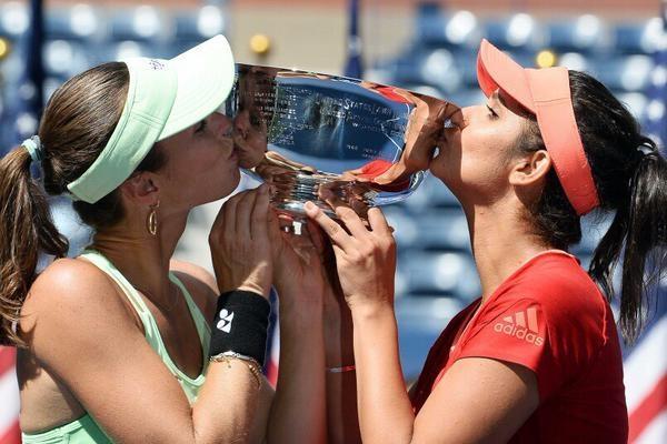 Dear BBC Did Martina Hingis win the US Open doubles alone