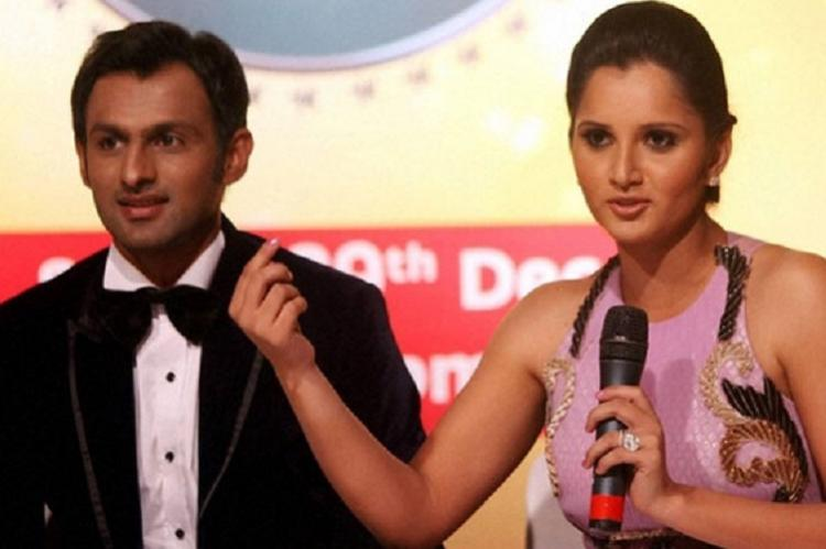 Sania and Shoaib hint about baby Mirza-Malik, note the surname