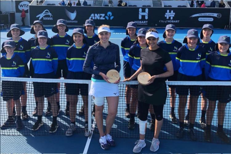 Sania Mirza marks tennis comeback with title win in Hobart