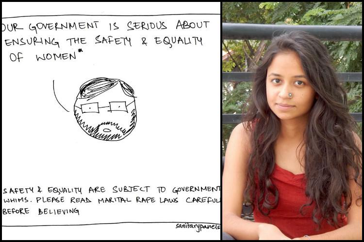 Stick figures with food for thought Hilarious web-comics making feminism fun