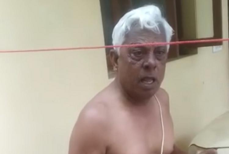 Chennai man caught on camera hurling casteist abuses at sanitation worker case filed