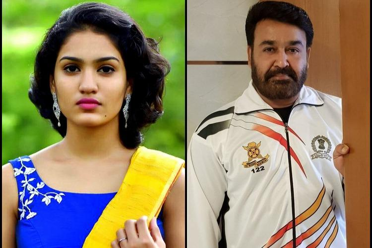 Queen actor Saniya Iyappan roped in for Mohanlal-Prithvirajs Lucifer
