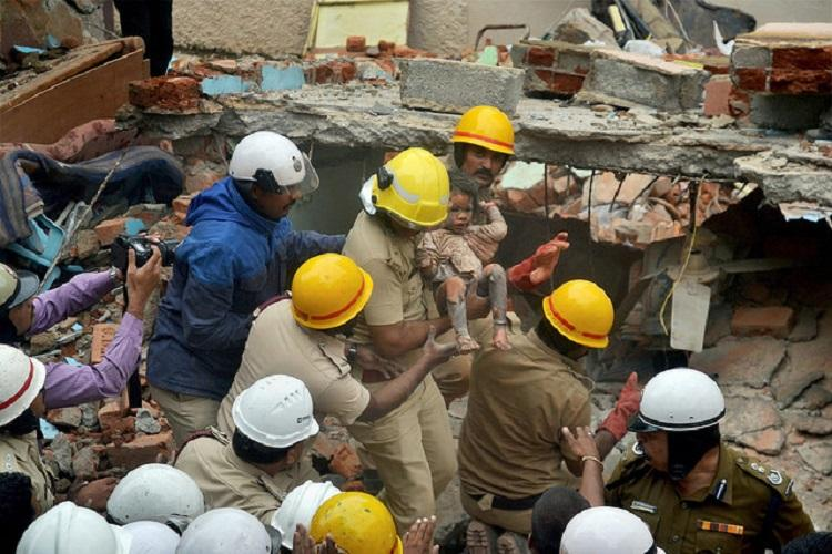 After battling for life 3-yr-old rescued from Bluru building collapse passes away
