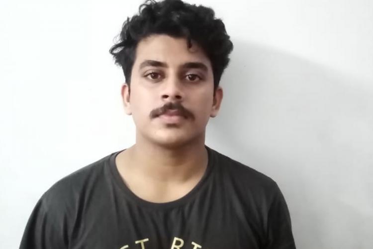 Accused Sanjeed Sadat in police custody
