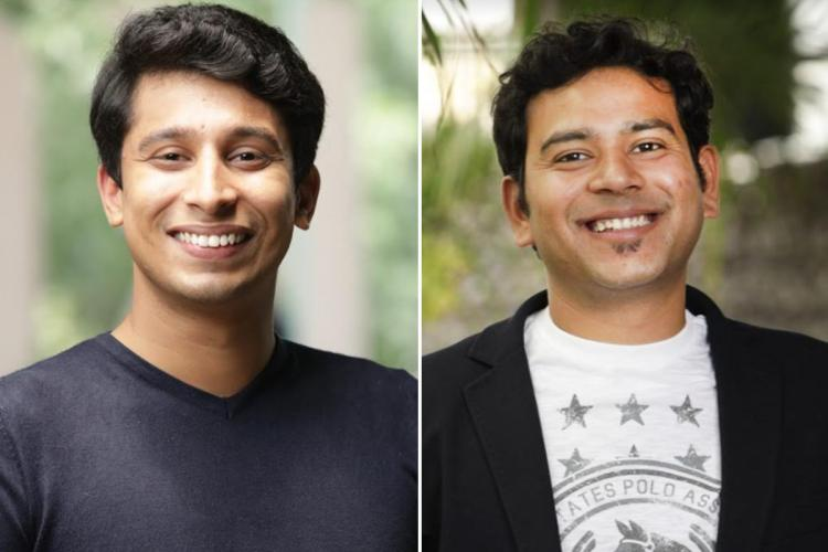 Picture of two men side-by-side smiling at the camera