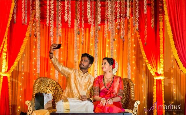 Cricketer Sanju Samson gets married to classmate Charulatha in a private ceremony