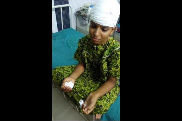TN Dalit man Sankars wife Kausalya discharged from hospital