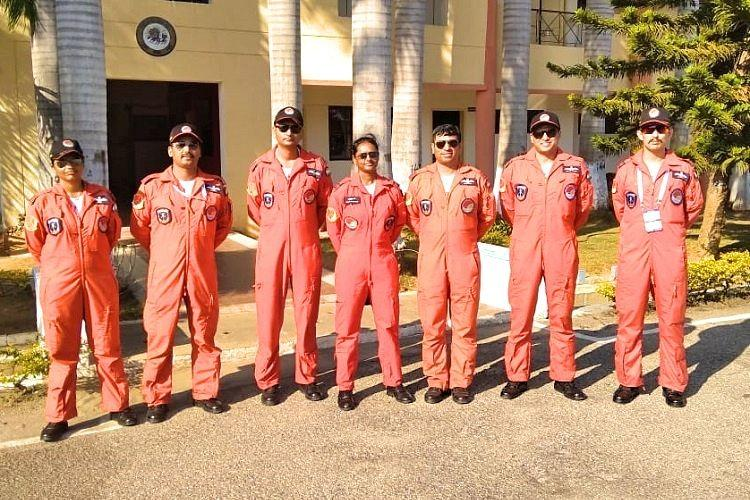 Flying is risky but we are trained and resilient IAFs Sarang team aerobats to TNM