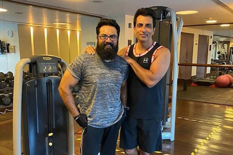 Sarath Kumar thanks Sonu Sood for humanitarian acts posts their workout pics