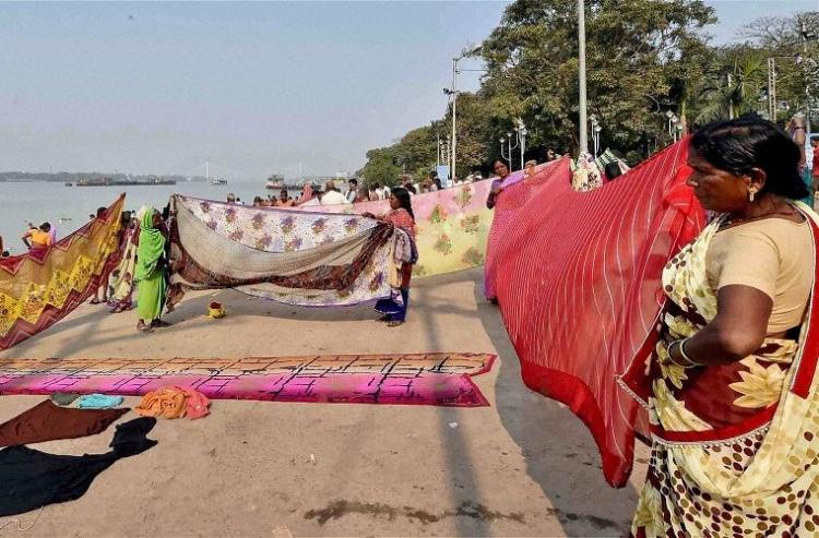 Love for sarees not political Indians hit back at New York Times
