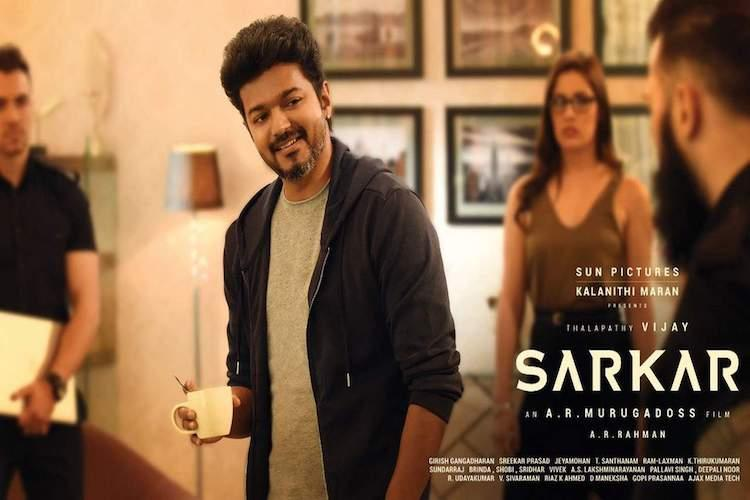 South Indian movies in top 7 Twitter India hashtags Vijays Sarkar in first place