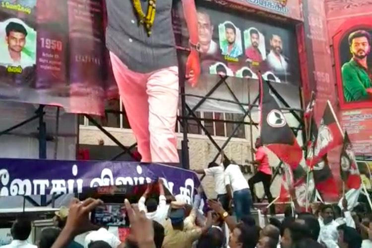 Sarkar vs TN sarkar How AIADMK arm-twisted filmmakers to give in to their demands