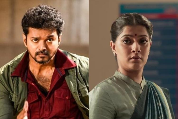 Vijay and Marans Sarkar What AIADMKs objection to the movie is all about
