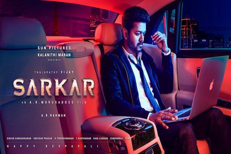 Vijay begins dubbing for Sarkar