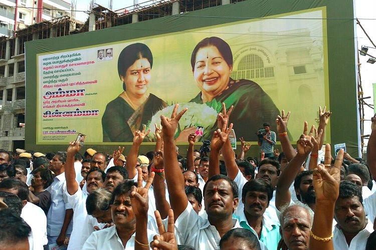 As Sasikala takes the crown rousing Chinnamma Anthem appeals for her to save the party