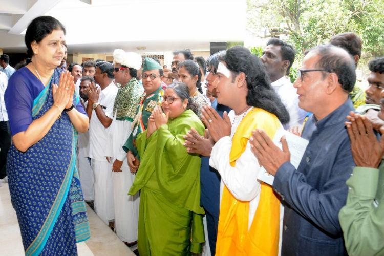 AIADMK General Council Will Sasikala do a Sonia Gandhi