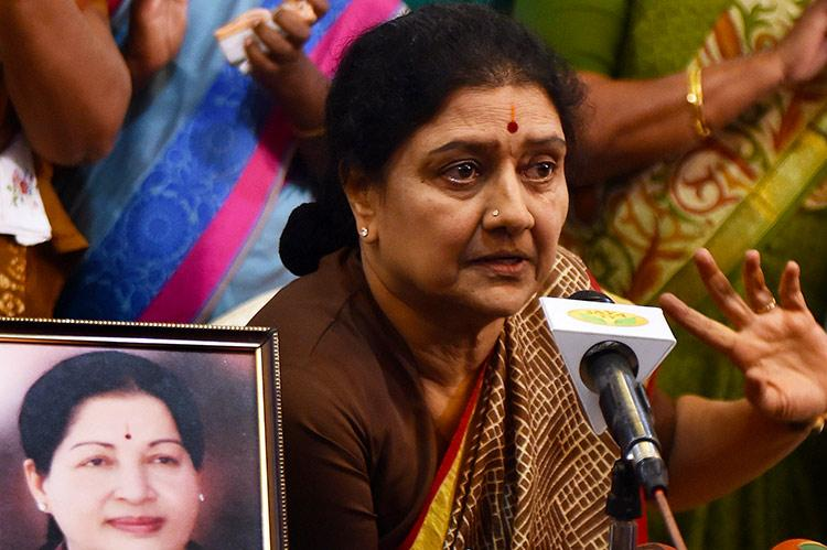 Sasikala should be shifted to Tumakuru prison Ministers should stop meeting her says PIL