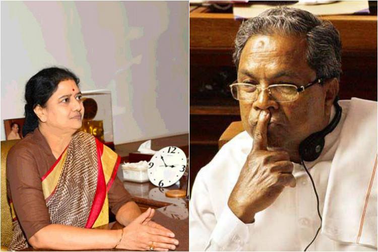 Sasikala VIP treatment row Ex DGP says he followed CMs order Siddaramaiah denies
