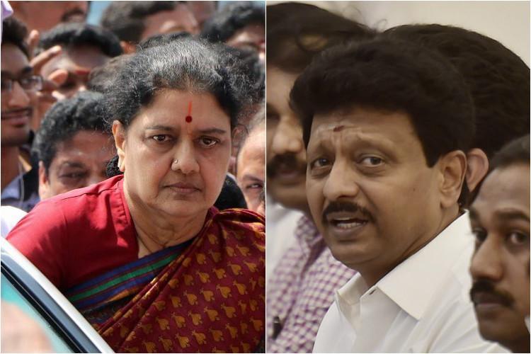 Mannargudi feud Sasikala slaps legal notice on Dhivaharan advantage TTV