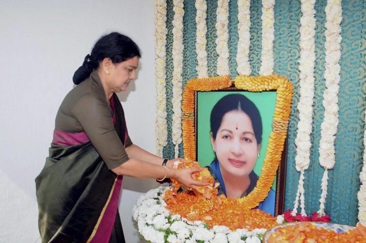 Jayalalithaas death unnatural poisoned pushed from stairs alleges AIADMK leader Pandian