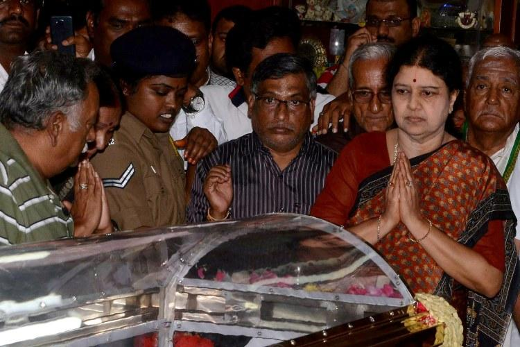 In the bylanes of Chennais RK Nagar constituency there is seething anger against Sasikala