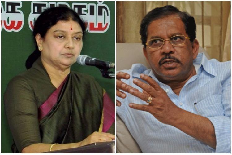 Sasikala jail row OPS camp says ex-Home Minister Parameshwaras also involved