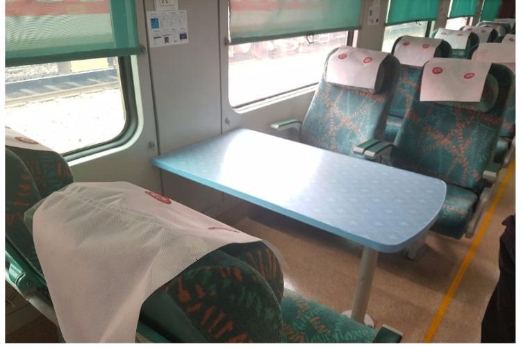 Indian Railway unveils its first refurbished Shatabdi Express under Operation Swarn