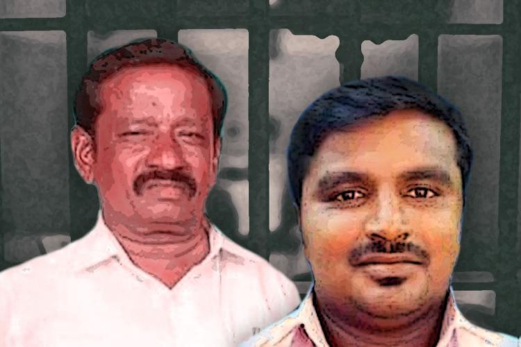 Jayaraj and his son Bennix who were allegedly assaulted by Sathankulam police