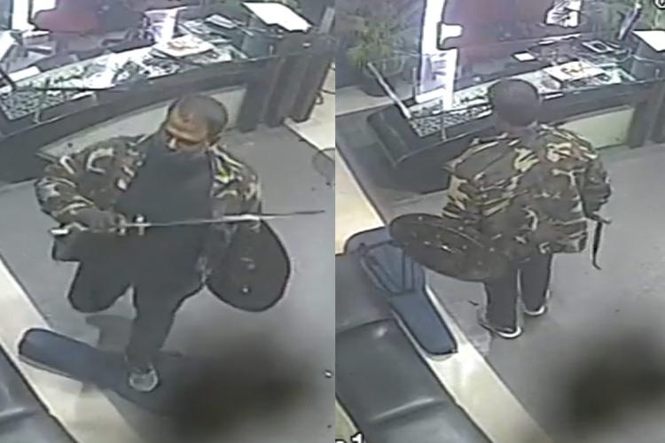 Sword-wielding man ransacks Sathiyam TV office in Chennai, caught on CCTV    The News Minute