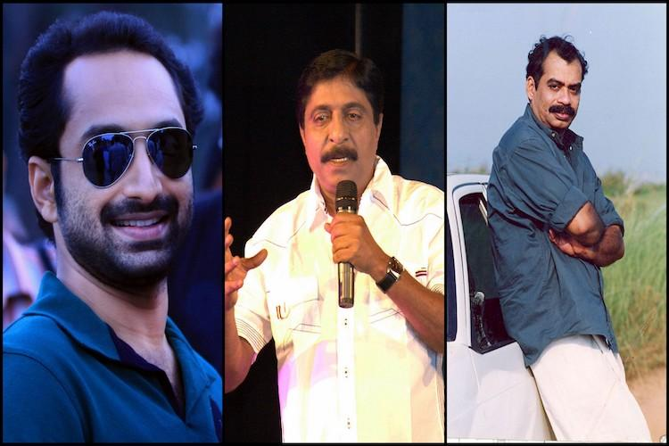 Sathyan Anthikad, Sreenivasan and Fahadh Faasil team up for